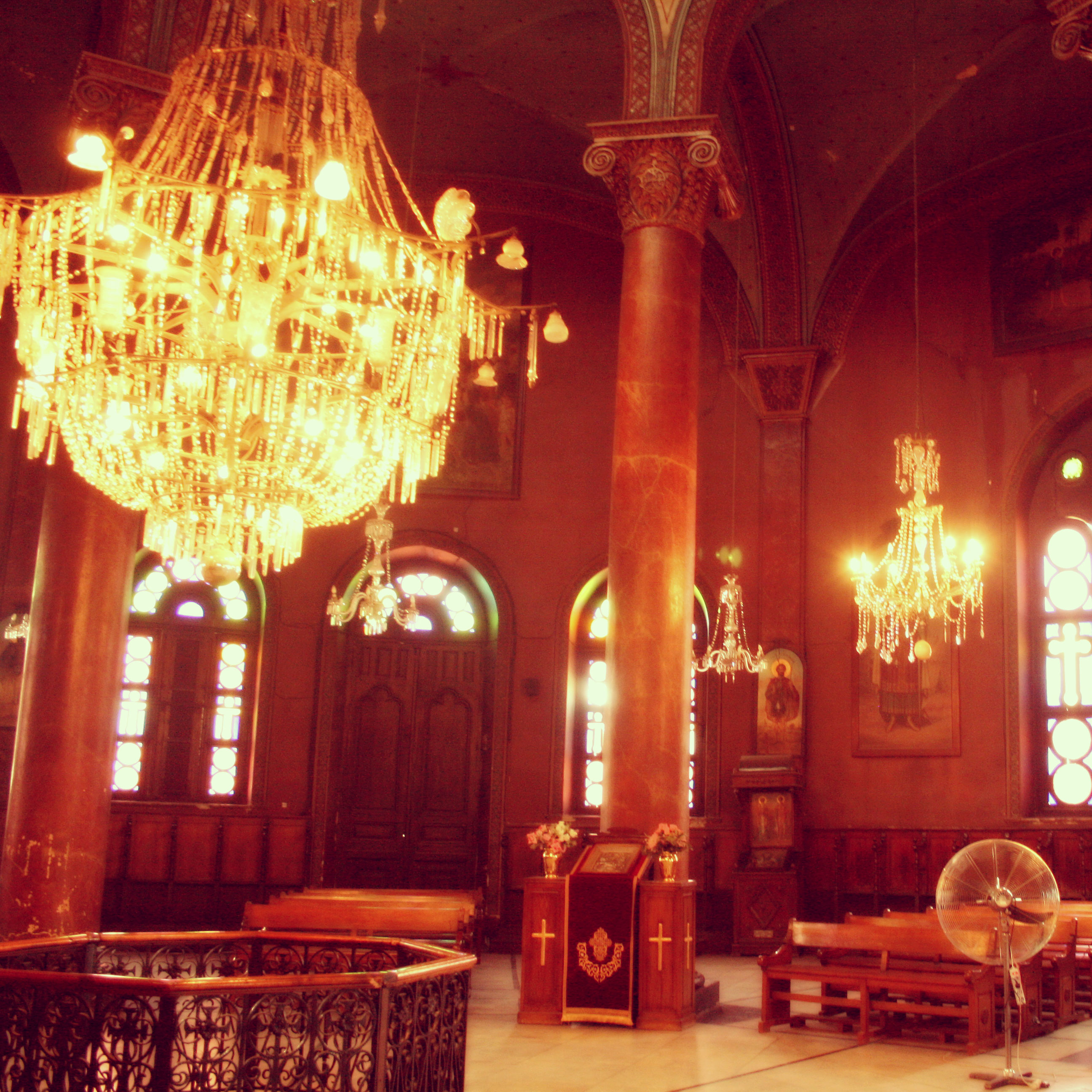 St._George,_greek_coptic_church,_Old_Cairo,_Egypt4